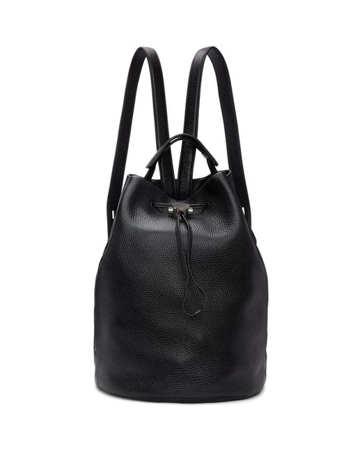 Kara - Black Moon Drawcord Backpack - Lyst
