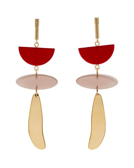 Isabel Marant - Red Other Potatoes Earrings - Lyst