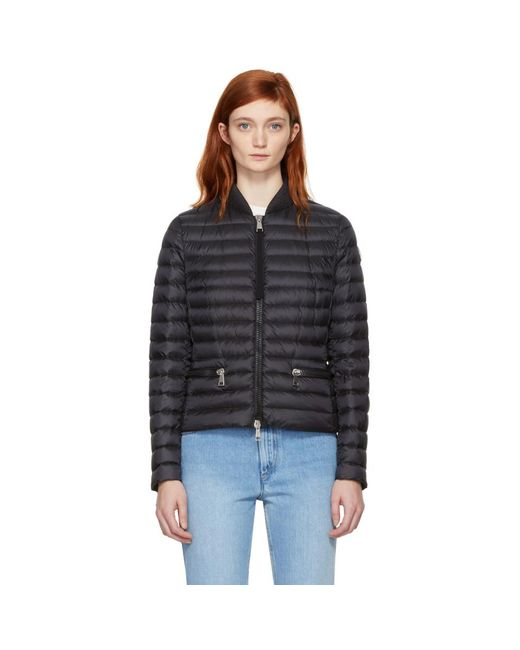 Moncler - Black Down Blen Jacket - Lyst ...