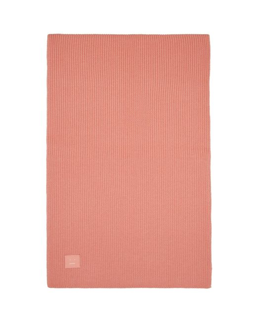 Acne | Pink Bansy Face Scarf | Lyst