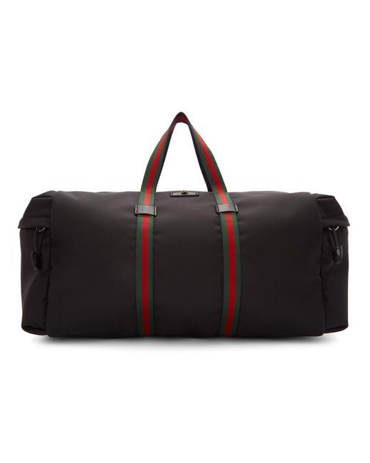 975df038799d Gucci Black Technical Duffle Bag in Black for Men - Lyst