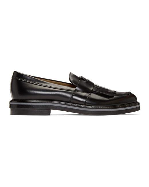 BOSS - Black Twister Loafers for Men - Lyst