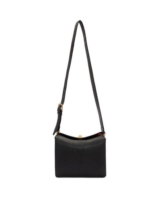 Balenciaga Black Small Flap Shoulder Bag