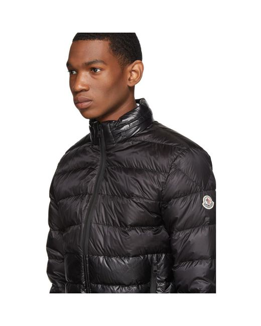 7ae6b729b224 ... Moncler - Black Down Aimar Jacket for Men - Lyst ...