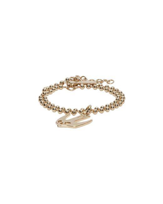 McQ Alexander McQueen - Metallic Gold Swallow Bracelet - Lyst