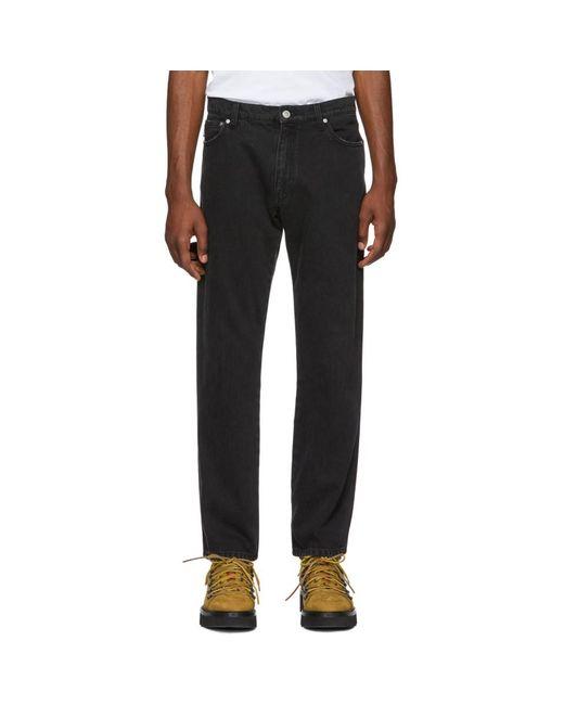 458e5786e2e MSGM Black Carpenter Jeans in Black for Men - Lyst