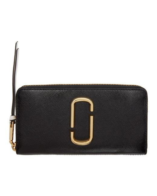 Marc Jacobs - Black Snapshot Standard Continental Wallet - Lyst