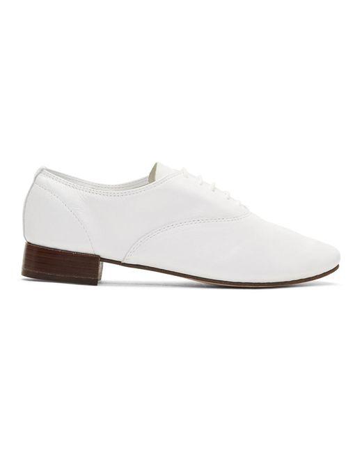 Repetto - White Zizi Oxfords - Lyst