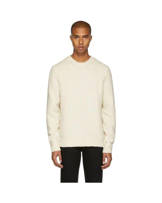 Rag & Bone - Off-white Charles Sweater for Men - Lyst