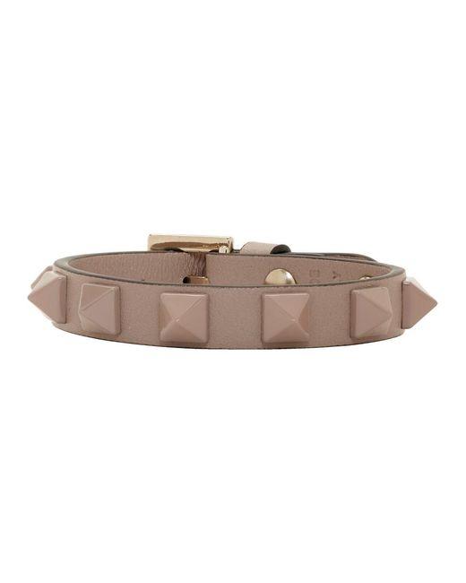 Valentino - Multicolor Pink Garavani Single Rockstud Bracelet - Lyst