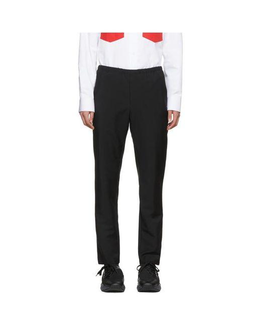 Acne   Black Ari Trousers for Men   Lyst