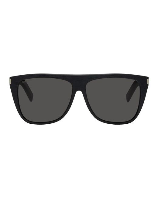 fffe140dda Saint Laurent Black Sl 1 017 Sunglasses in Black for Men - Lyst