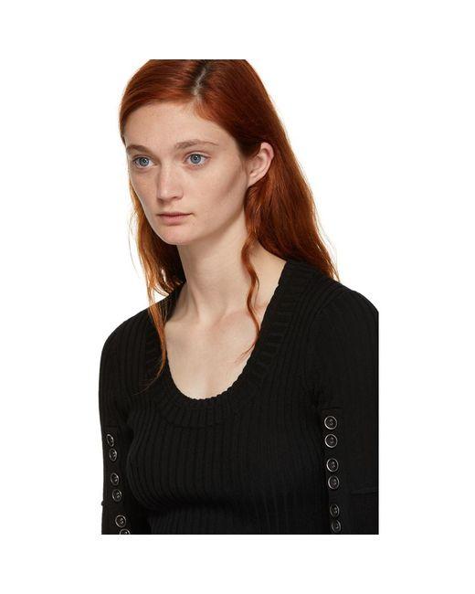 en tres Lim mangas negro con tres cuartos suéter 3 Lyst 1 botones Phillip Yqw1F