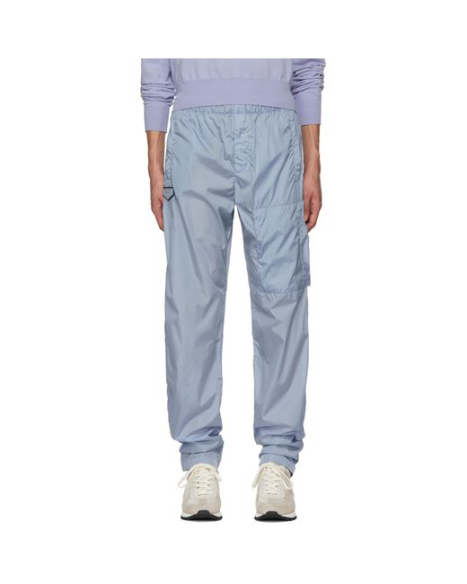 Givenchy | Blue Nylon Jogging Lounge Pants for Men | Lyst