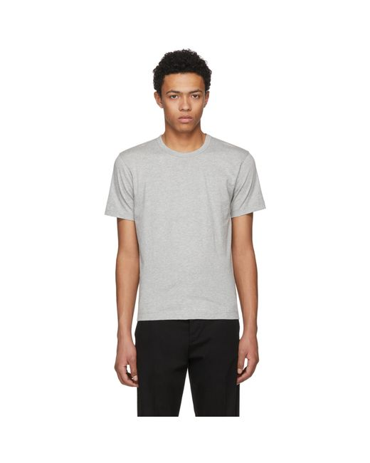 Comme des Garçons | Gray Grey Basic T-shirt for Men | Lyst