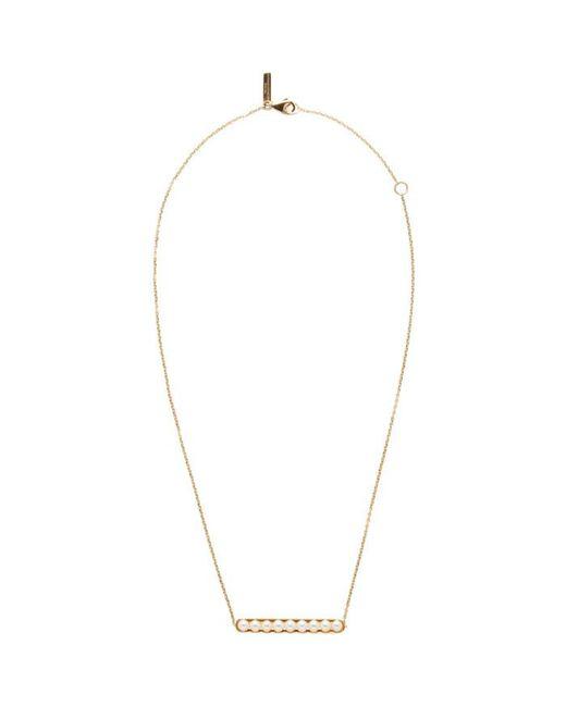 Melanie Georgacopoulos | Metallic Gold Essence Line Pendant | Lyst