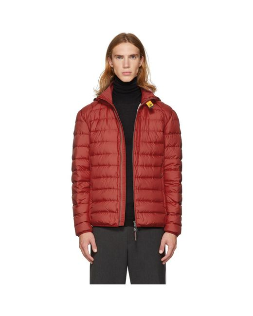 Parajumpers - Red Blouson rouge Super Lightweight Last Minute for Men - Lyst ...