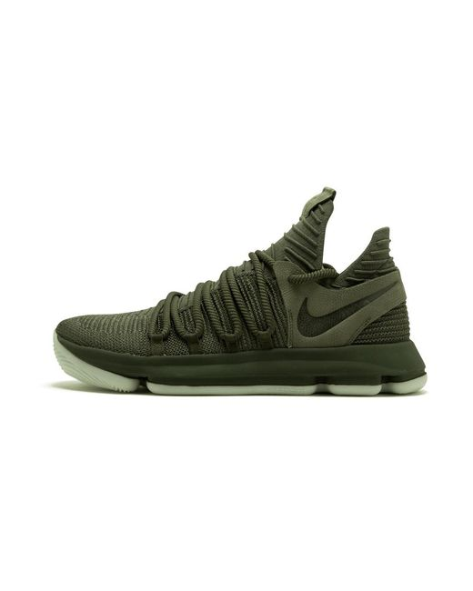 cd00c0b44c7 Lyst - Nike Zoom Kd 10 Nl Multi collegiate Orange in Green for Men