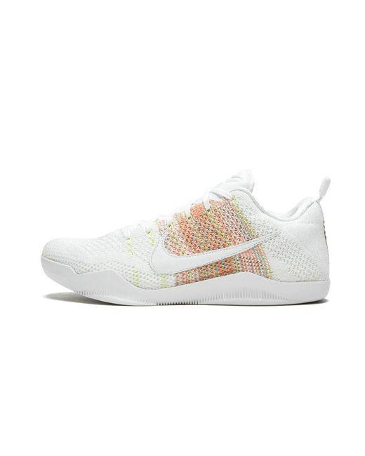 brand new 50ccb 842fe Nike - White Kobe 11 Elite Low 4kb for Men - Lyst