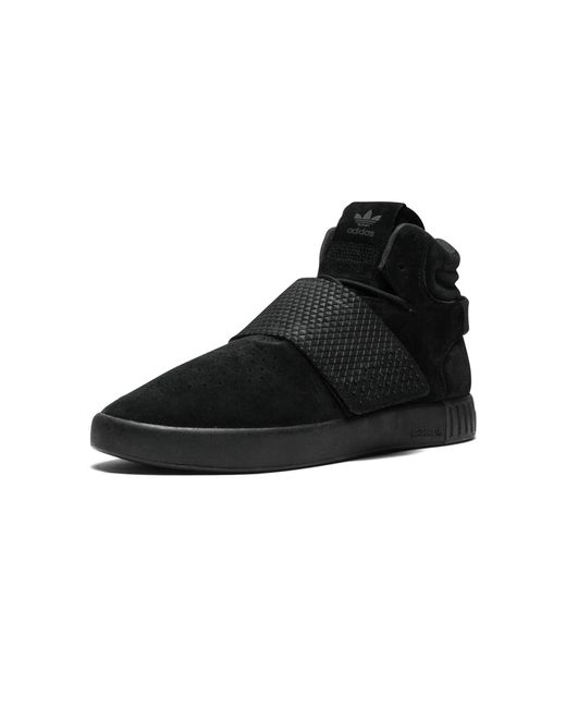 ... Adidas - Black Tubular Invader Strap for Men - Lyst ... 4f2c58073