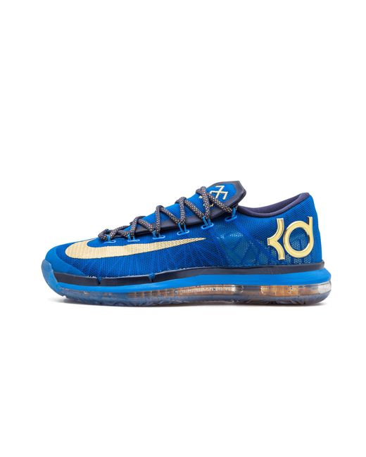 quite nice 18708 340a0 Nike - Kd 6 Elite Premium Photo Blue metallic Gold  supremacy  for Men ...