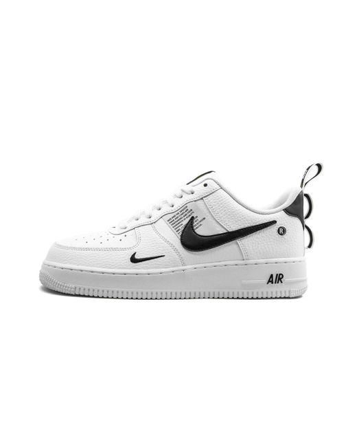 Mens White Air Force 1 07 Lv8 Utility Shoes Size 13