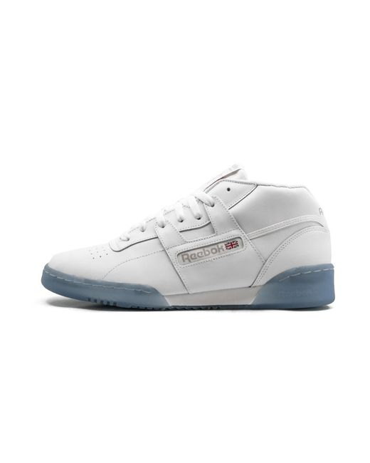 newest 8977a 375d8 Reebok - White Workout Mid Clean Bwi - Size 8 for Men - Lyst
