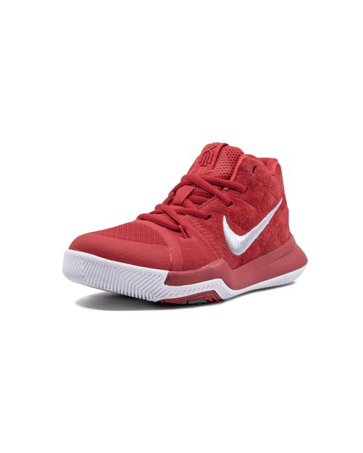 9682b4839927 Nike Kyrie 3 in Red for Men - Save 24% - Lyst