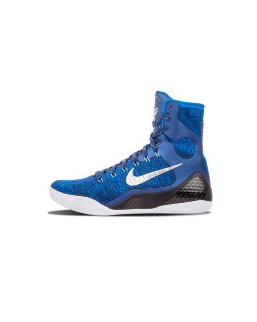 size 40 241dd 49162 Nike - Blue Kobe 9 Elite for Men - Lyst ...