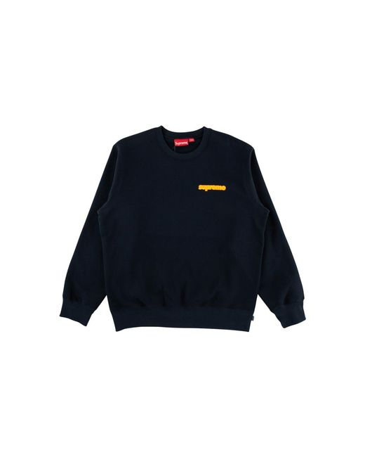 ca61acacedec Supreme Connect Crewneck T-shirt 'fw 18' in Blue for Men - Lyst