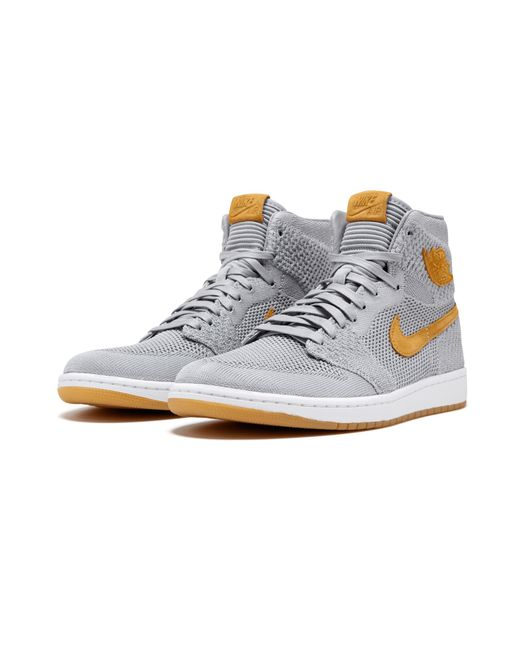 7d413321 Lyst - Nike Air 1 Flyknit in Gray for Men - Save 5%