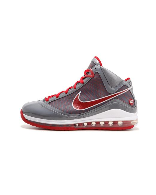 28b29a40370 Lyst - Nike Air Max Lebron 7 Tb in Red for Men