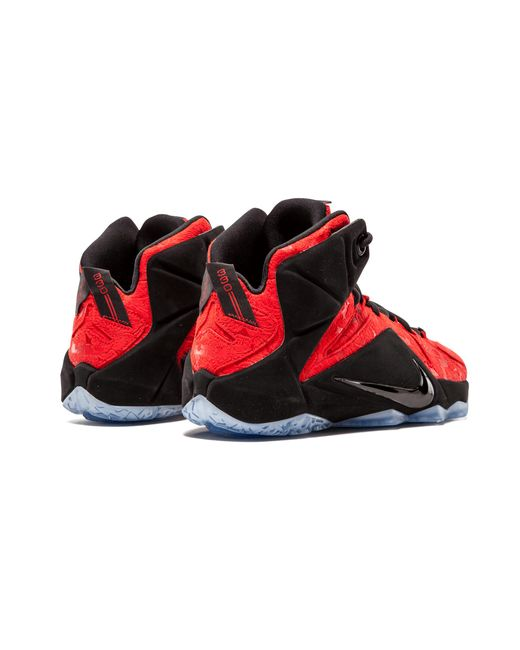 052d61865e4 Lyst - Nike Lebron 12 Ext in Red for Men - Save 17%