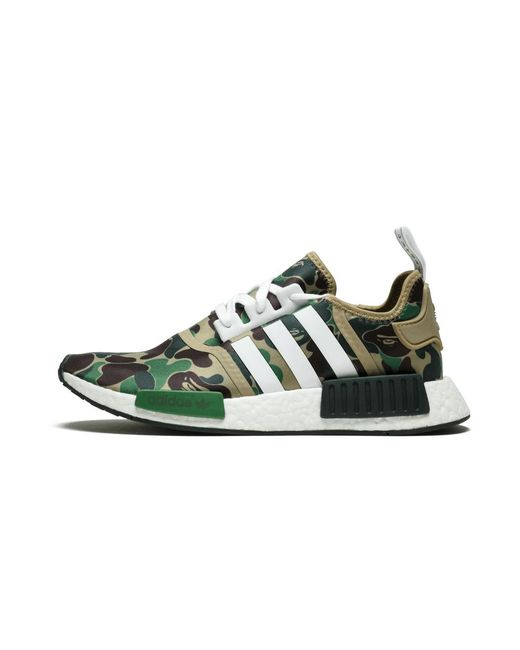 new arrival a7a09 b3af9 Adidas - Green Nmd R1 Bape  abc for Men - Lyst