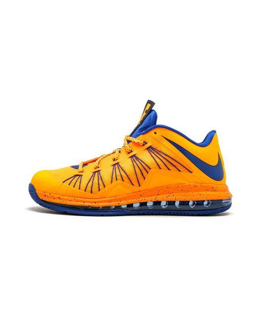 42bf5ccda79 Nike - Multicolor Air Max Lebron 10 Low Bright Citrus hyper Blue for Men -