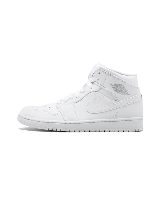 5920407a9c49cd Lyst - Nike Air 1 Mid in White for Men - Save 56%