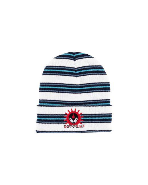 3e863a45 Supreme Vampire Beanie Hat 'fw 18' in White for Men - Lyst