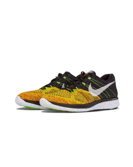 4882230c89114 Nike Flyknit Lunar3 in Black for Men - Save 15% - Lyst