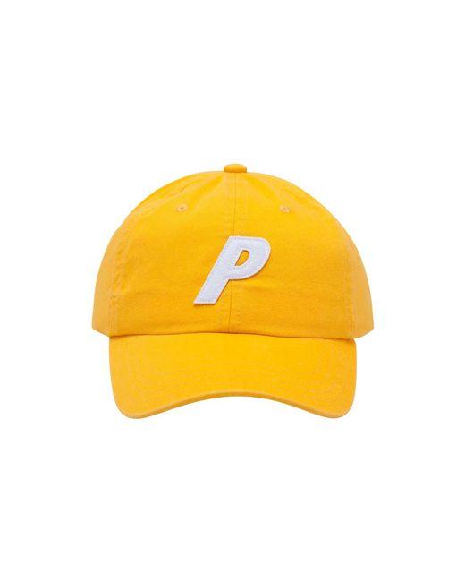 more photos 1d22d 7a499 Palace - Yellow P 6-panel Cap for Men - Lyst