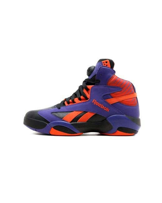 bc1386ab85d Lyst - Reebok Shaq Attaq in Black for Men