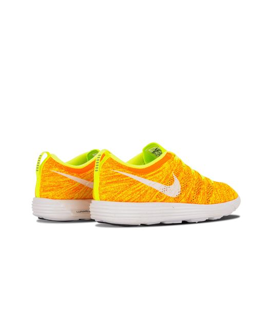 info for 9cd29 00b54 ... Nike - Yellow Womens Flyknit Trainer - Lyst ...