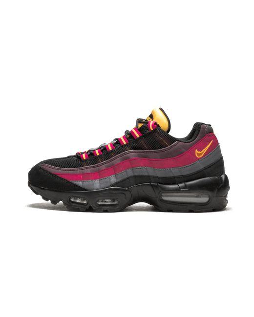 f630a60a238eb Nike - Black Air Max 95 for Men - Lyst ...