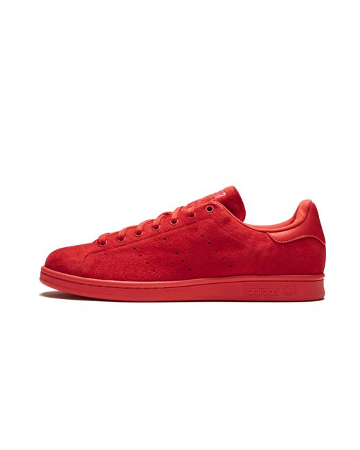 10620329085 Adidas - Red Stan Smith for Men - Lyst ...