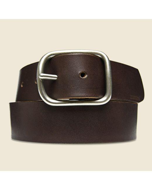 Billykirk - Center Bar Belt - Brown for Men - Lyst