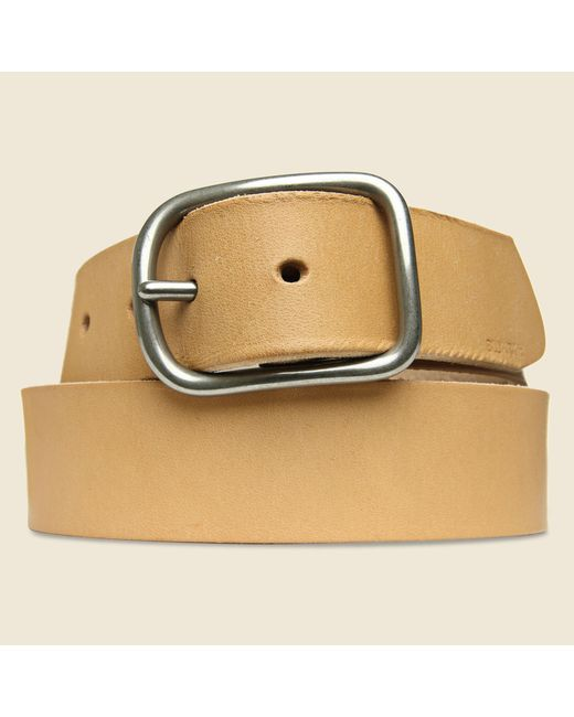 Billykirk | Center Bar Belt - Natural for Men | Lyst