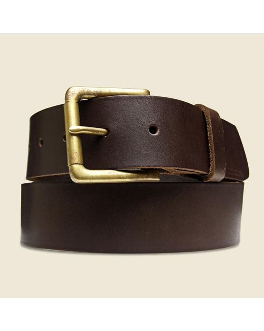 Billykirk | Roller Bar Belt - Brown for Men | Lyst