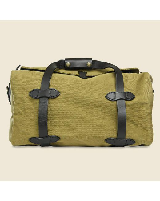 de6221c5fe Lyst - Filson Small Duffle Bag - Tan in Green for Men - Save ...