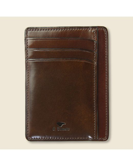 Il Bussetto - Card And Document Case - Dark Brown for Men - Lyst