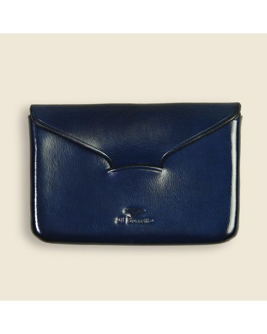 Il Bussetto - Blue Business Card Holder - Navy for Men - Lyst