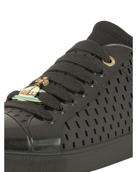 71587e67ad400 ... Vivienne Westwood - Black Sneaker Orb Leather Trainers for Men - Lyst  ...